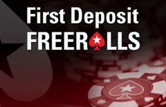 PokerStars Ersteinzahler Freerolls