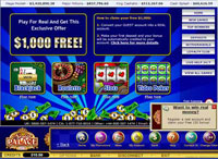 Spin Palace Casino  Online Casino Lobby