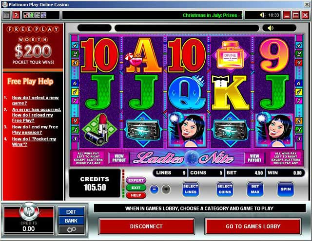platinum play casino linea