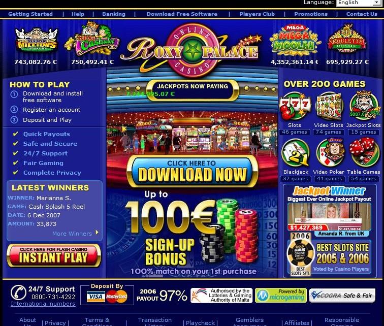 roxy palace online casino casino spiele kostenlos online